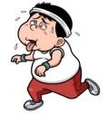 runner in leggings