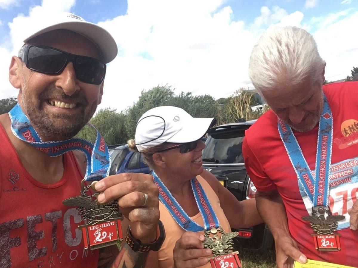 Country Miles (Dorset Invader Marathon2018)